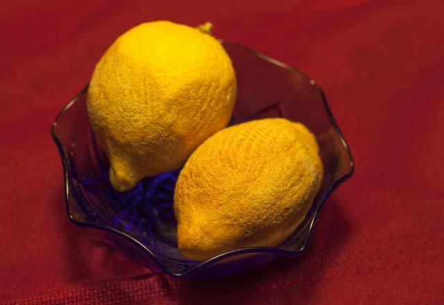 Kuruyan Limonları Eski Haline Getirin