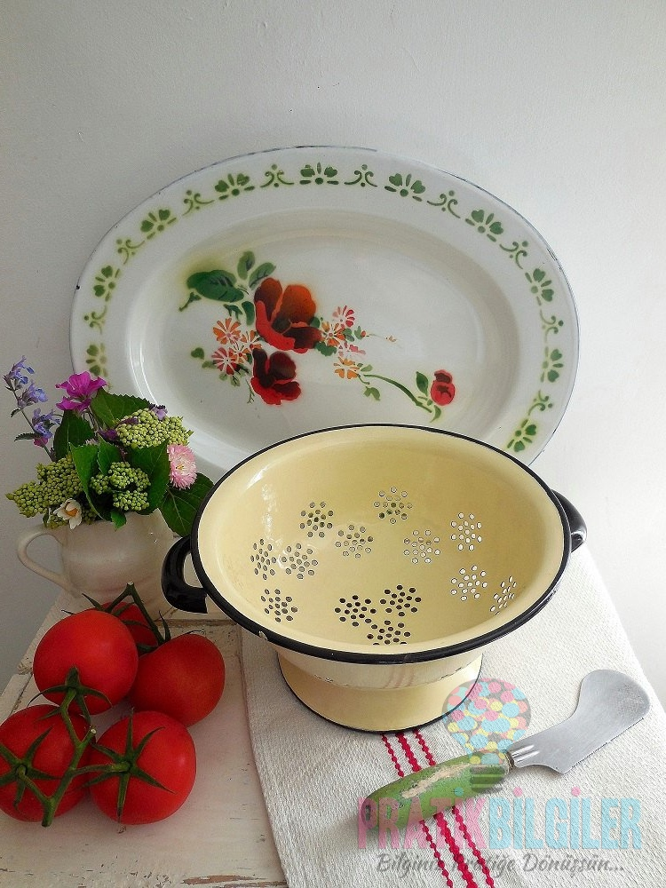 Emaye Mutfak Eşyaları Sağlıklı Mı? Temizliği Nasıl Yapılır?
