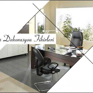 Ofis Dekorasyonu İçin Öneriler